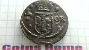 Coins Home 164137 Sweden Usa Legal Tender In Colonial Times Fur Trade 1/4 Ore
