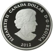 Canada Dollar 2012 Proof Native American Artistic Two Loons W27 221