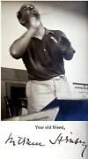 1936 Conductor William Steinberg Hand Signed Autograph Letter Photo Jewish Tls