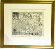 David Freed / Map Virginia Discovered And Discribed From The Original 279809