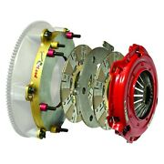 For Ford Mustang 2010-2014 Mcleod 6975-07hd Rxt Twin Disc Clutch Kit