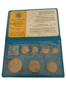World Coin - New Zealand Coin Set 1969 Issued By New Zealand Treasury