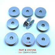 Large M Style Aluminum Bobbins Fits Most Long Arm Sewing Machines 239729a