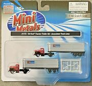 Classic Metal Works Mini Metals 1954 Ford Tractor/trailer Set 51172 N Scale