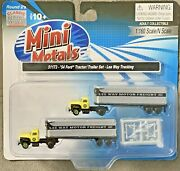 Classic Metal Works Mini Metals 1954 Ford Tractor/trailer Set 51173 N Scale