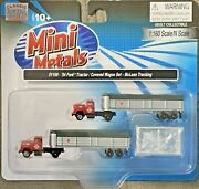 Classic Metal Works Mini Metals 1954 Ford Tractor/trailer Set 51169 N Scale