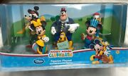Disney Store Mickey Mouse Clubhouse Figurine Playset Cake Toppers New-in-box