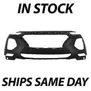 New Primered Front Bumper Cover Replacement For 2019 2020 Hyundai Santa Fe 19 20