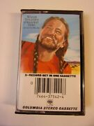 Pre Owned Great Condition Willie Nelson Cassette Tape Greatest Hits K2t37542