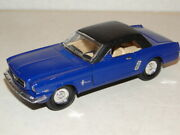 And03965 Ford Mustang Ss5719 Superior Pullback Doors And Trunk Open 5 1/2 Blue