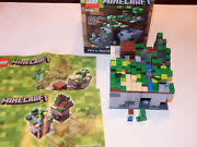 Lego Minecraft Set 21102 Micro World Complete Set. Pre-owned. Retired
