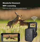 Night Vision Infrared Scope 1080p Hunting Camera Recorder Wifi And Usb 5w Ir Power