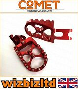 Honda Crf150rb Large Wheel 19/16 Inch 2007-2020 [red Mx Studded Footpegs]