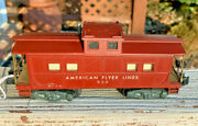 American Flyer Lines ..1953-1957..930 Lighted Caboose..great Car For Layout
