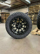 20x9 D694 Fuel Covert Black Wheels 32 Amp At Tires 6x5.5 Toyota Tacoma 4runner