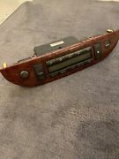 2002-2004 Toyota Camry Ac Heater Climate Control Unit 55900-06150 Wood Grain