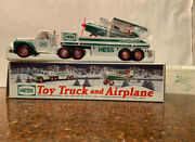 2002 Hess Truck And Airplane New In Box - Mint Condition W/ Free Std Shipping