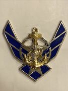 Us Air Force Army Navy Marines One Team One Theme Challenge Coin Ornament