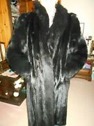 Ranch Mink Coat Fox Collar And Sleeve From Denmark With Knit And Mink Hat Norway