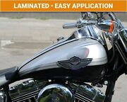 Harley Davidson 100th Anniversary Gas Tank Decals Stripes Stickers Laminated