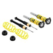 For Volkswagen Gti 09-14 Coilover Kit 0.4-1.6 X 0.6-1.6 St Xta Front And Rear