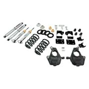 For Chevy Silverado 1500 07-13 Belltech 3-4 X 7 Front And Rear Lowering Kit