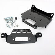 Winch Mount Plate Bracket For Polaris 15-19 Rzr 900and14-19 Rzr 1000and General