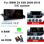 Android 10 Car Gps Player Video Wifi Wireless Carplay For Bmw Z4 E89 2009-2018