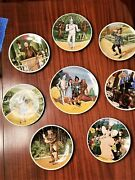 Knowles Wizard Of Oz Collector Plate Complete Set Of 8 Plates By James Auckland