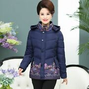 Middle-aged And Elderly Women's Jackets Cotton Coat 2020 Winter Jacket Coats Dow