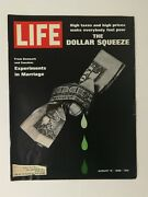 Life Magazine August 15 1969 - The Dollar Squeeze - Sears Screamer Bicycle Ad