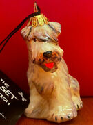 Joy To The World Soft Coated Wheaten Terrier Dog Ornament From Poland