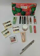 Clinique Exclusive Gift Set Travel By Lulu Dk Skin Care Makeup Tropical Bag New