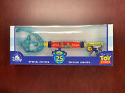 Disney Store Pixar Toy Story 25th Anniversary Key Special Edition