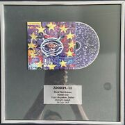 Zooropa - U2 Rare World First Release Numbered Picture Frame - Near Mint Cond