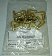 10-pk - Fairview Fittings 139-4a 90anddeg Male Elbow 1/4 Hose X 1/8 Mnpt Boat Fuel