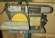 Replacement Belt And Disc Sander Drive Belt For Bds4-6 Sher And Jbs Bd-46r B27f