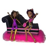 Monster High Doll Lot----clawdeen Wolf----gloom Beach And Music Festival 165