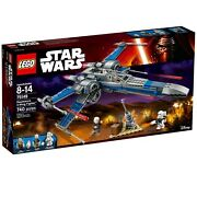 Lego 75149 Star Wars Resistance X-wing Fighter Set, New In Sealed Box