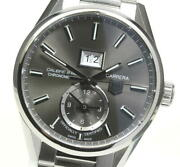 Tag Heuer Carrera War5012 Gmt Calibre 8 Gray Dial Automatic Menand039s Watch_574636