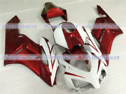 Fairing Plastic Fit For Cbr 1000 Rr 2004-2005 Injection White Pearl Red New A09