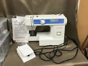Vintage New Home Model Ja 1502 Sewing Machine W/foot Control And None Fitting Case