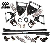 1971-72 Chevy C10 Pickup Front Rear Tubular A Arms Full Coilover Conversion Kit