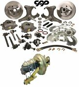 1963-66 Chevy-gmc Truck C10 Front Disc Brake Conversion Kit 5 Lug Stock Height