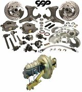 1963-66 Chevy-gmc Truck C10 Front Disc Brake Conversion Kit 6 Lug Stock Height
