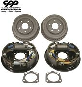 1967-69 Chevy Camaro Rs Ss Z/28 Oe-style Concours Complete Rear Drum Brake Kit