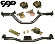 1955-59 Chevy Gmc Truck Poly Engine / Transmission Crossmember Conversion Kit