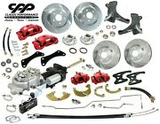 67 70 Chevy C10 Truck Front And Rear Big Brake Kit Modular Drop Spindles 6x5.5