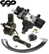1968 68 Chevy Chevelle Sbc Power Steering Gearbox Conversion Kit 283 327 350