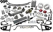 1948-52 Ford F1 1/2 Ton Truck Ultimate Performance Package Mustang Ii Ifs Kit